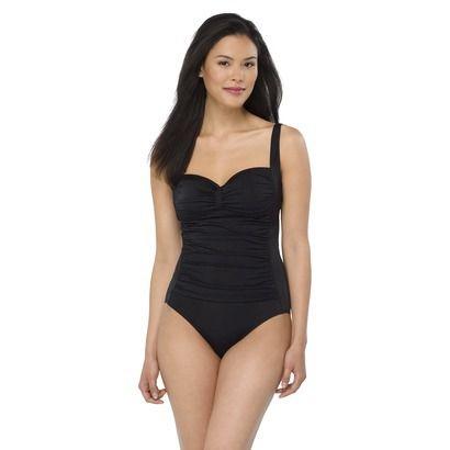 2ab2fb8cae Target Women's 1-Piece Swimsuit -Black   Nice threads.   Swimsuits ...