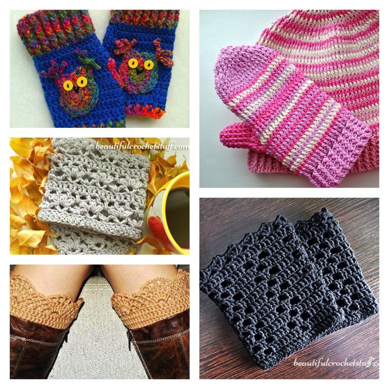 Crochet Boot Cuffs Free Patterns Crochet Pinterest Crochet