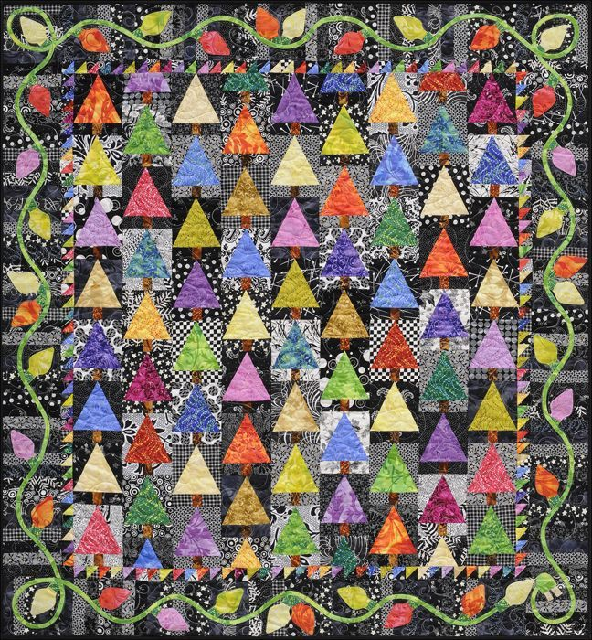 Holiday Lights Quilt - Alex Anderson.