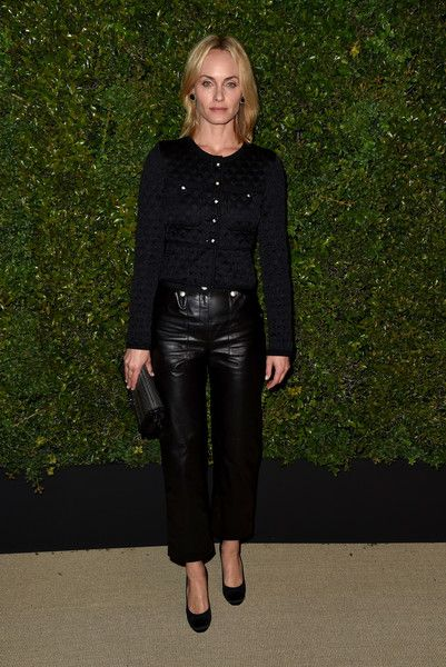 0fb866e0d Actor Amber Valletta attends the celebration of Chanel s Gabrielle Bag  hosted by Caroline De Maigret and Pharrell Williams at Giorgio Baldi on  April 6