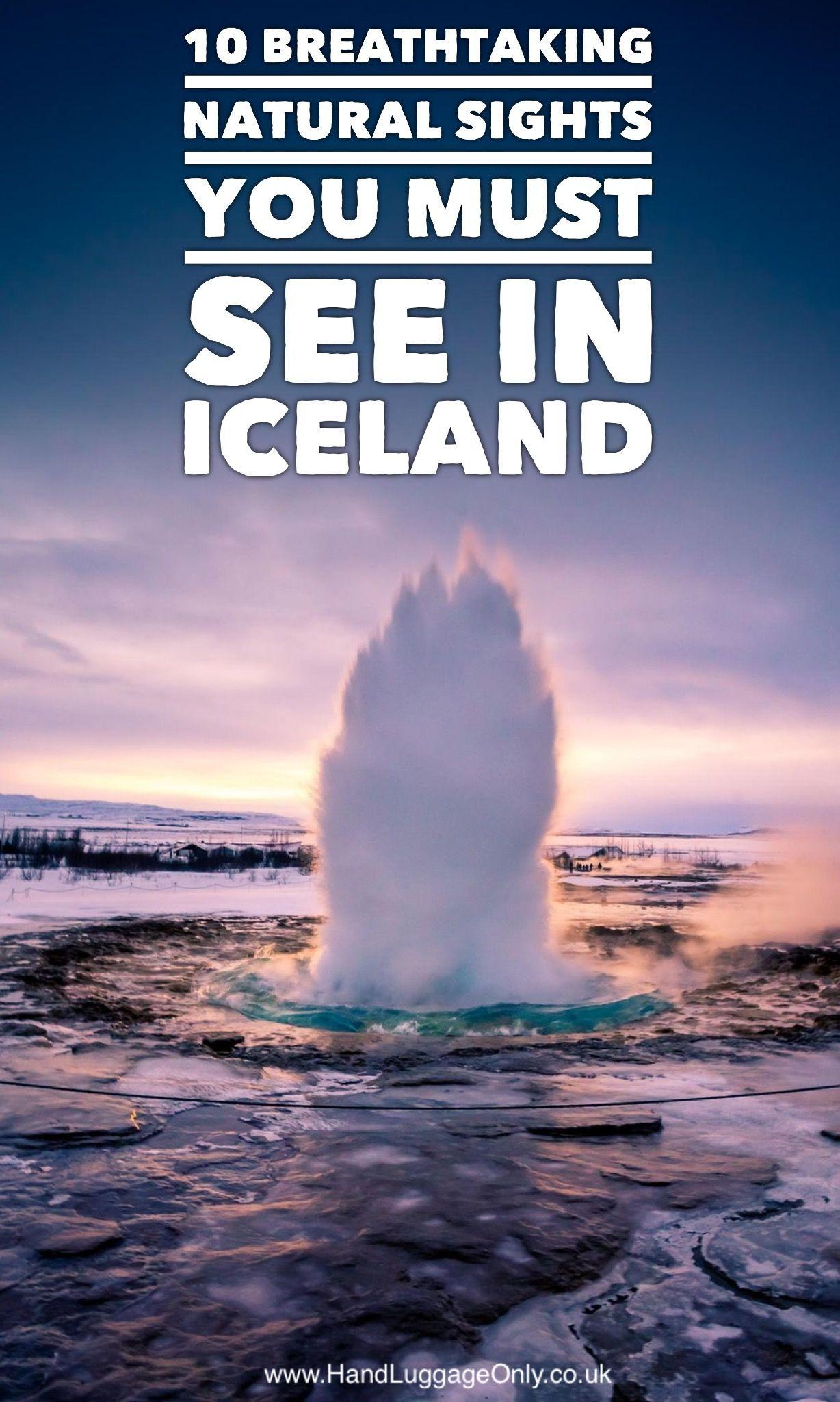 Breathtaking Natural Sights You'll Want To Explore In Iceland 10 Breathtaking Natural Sights You'll Want To Explore In Iceland - Hand Luggage Only - Travel, Food & Photography Blog10 Breathtaking Natural Sights You'll Want To Explore In Iceland - Hand Luggage Only - Travel, Food & Photography Blog