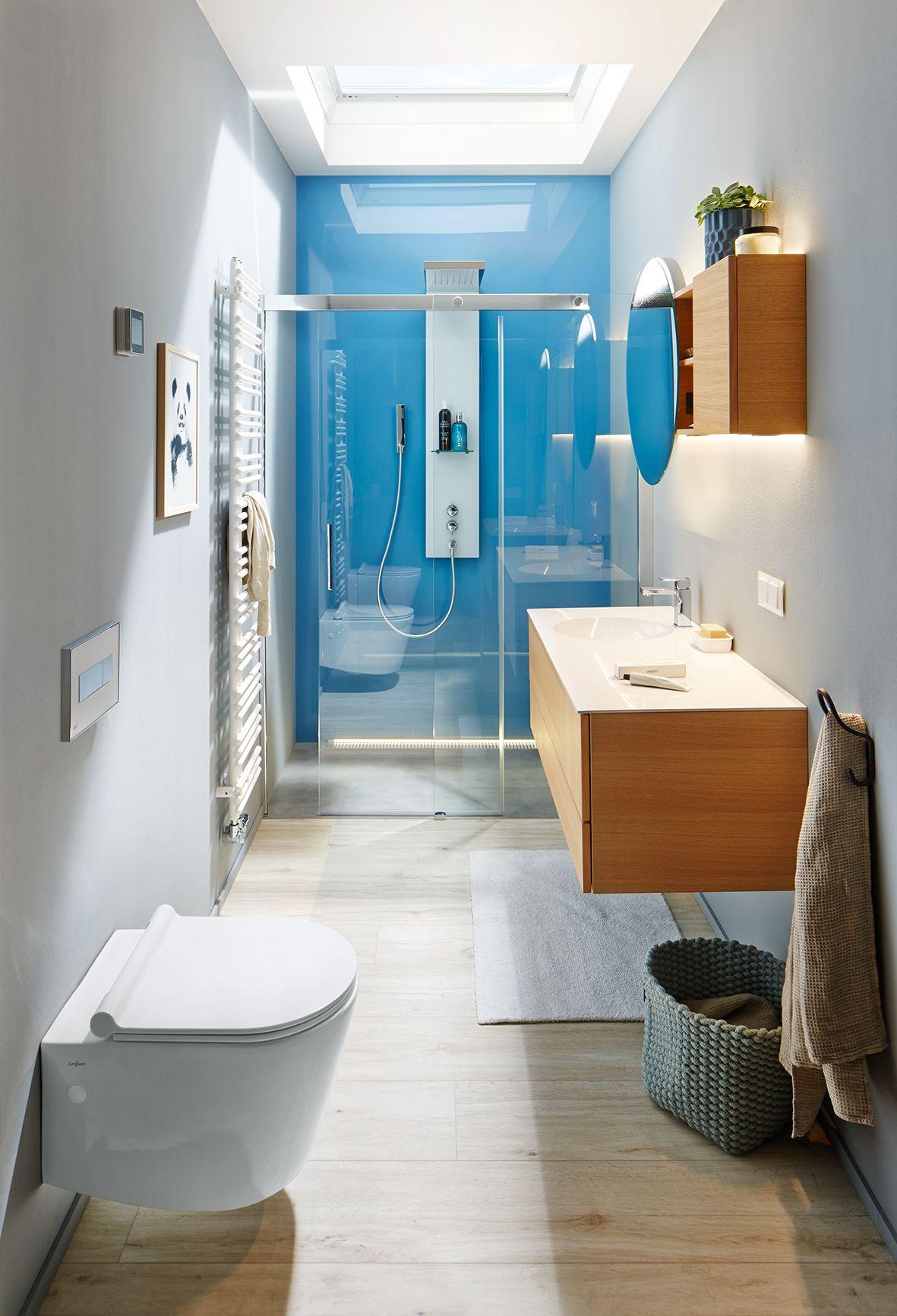 4 qm Duschbad | Bathroom Ideas | Pinterest | Duschbad, Badezimmer ...