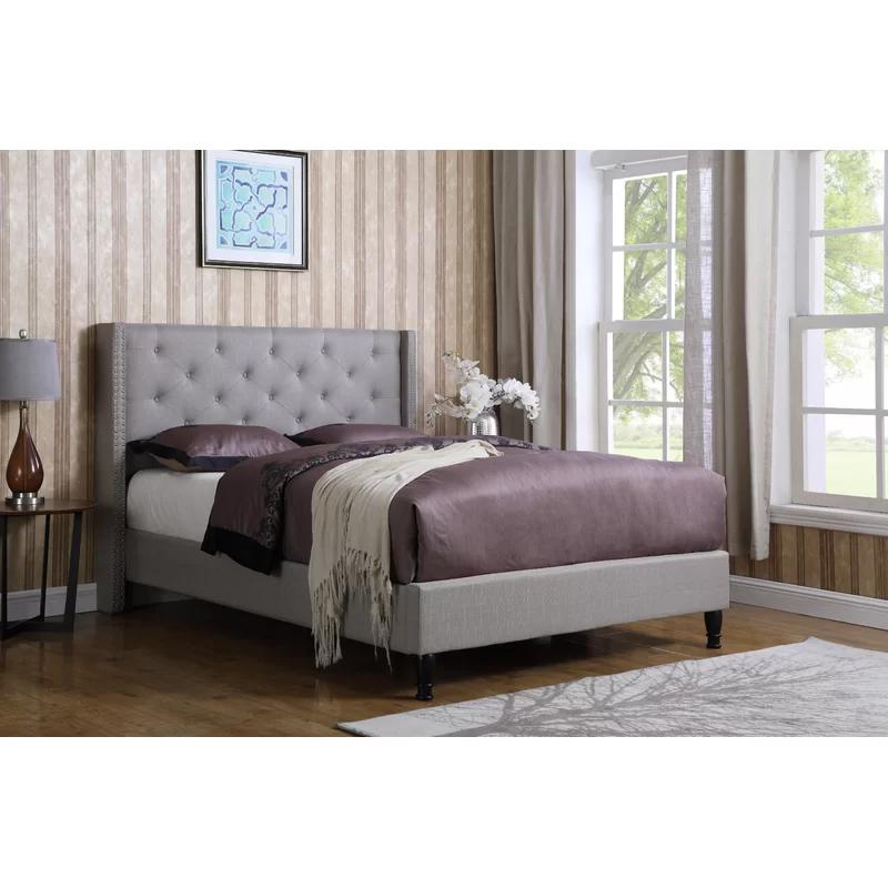 Boswell Upholstered Platform Bed Upholstered platform