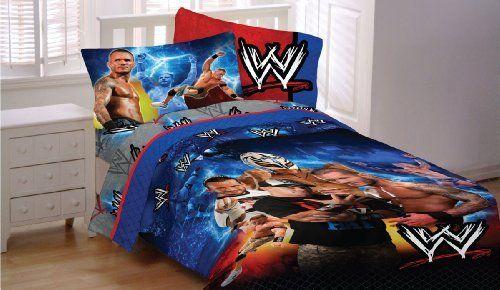 Wwe Wrestling Champions 5pc John Cena Full Bedding Set By 90 99 Size Comforter Flat Sheet Ed