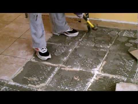 How To Remove Ceramic Tile You