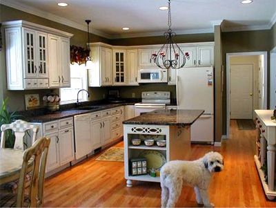 Awesome Kitchen Designs With White Appliances Pictures   3D House .