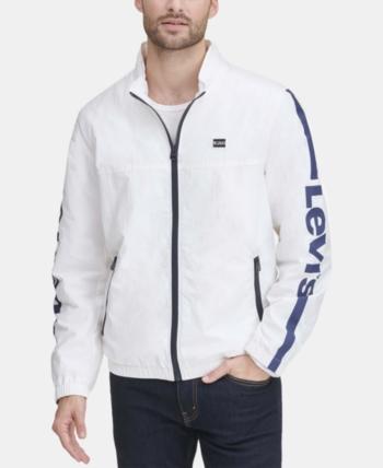 02b98f660 Levi's Men Taslan Full-Zip Jacket in 2019 | Products | Jackets ...