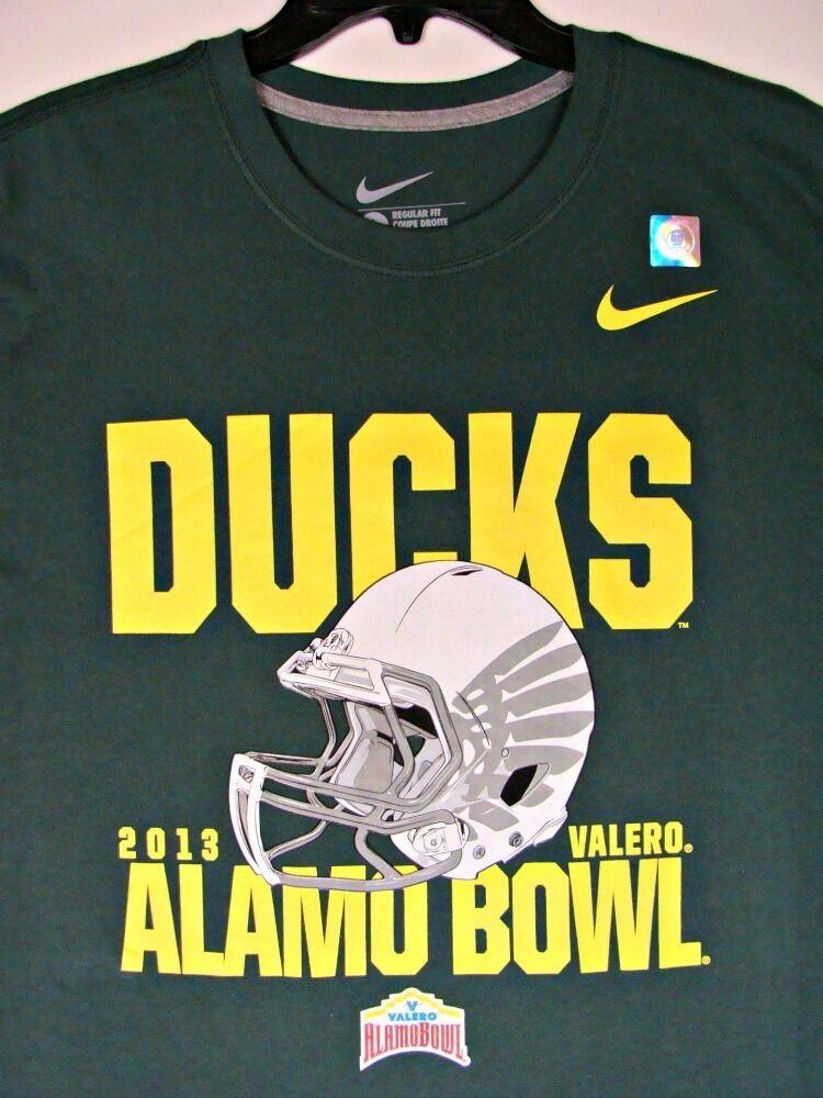 2013 oregon ducks alamo bowl football champions nike t
