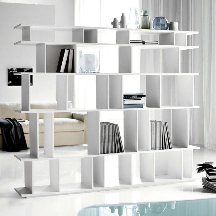 Ikea expedit ideen  raumtrenner ideen raumteiler vorhang raumteiler regal expedit ikea ...