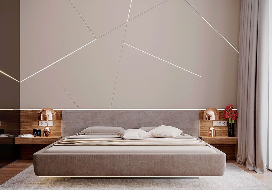 Decorazioni Camere Da Letto Moderne : Camere da letto originali: 55 idee per arredamento e accessori