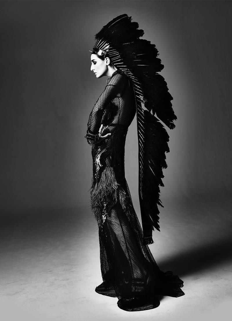 "Fashion Soul | ""Aristo Punk"" #ErinOConnor by #SimonProcter  on #stilettomagazine"