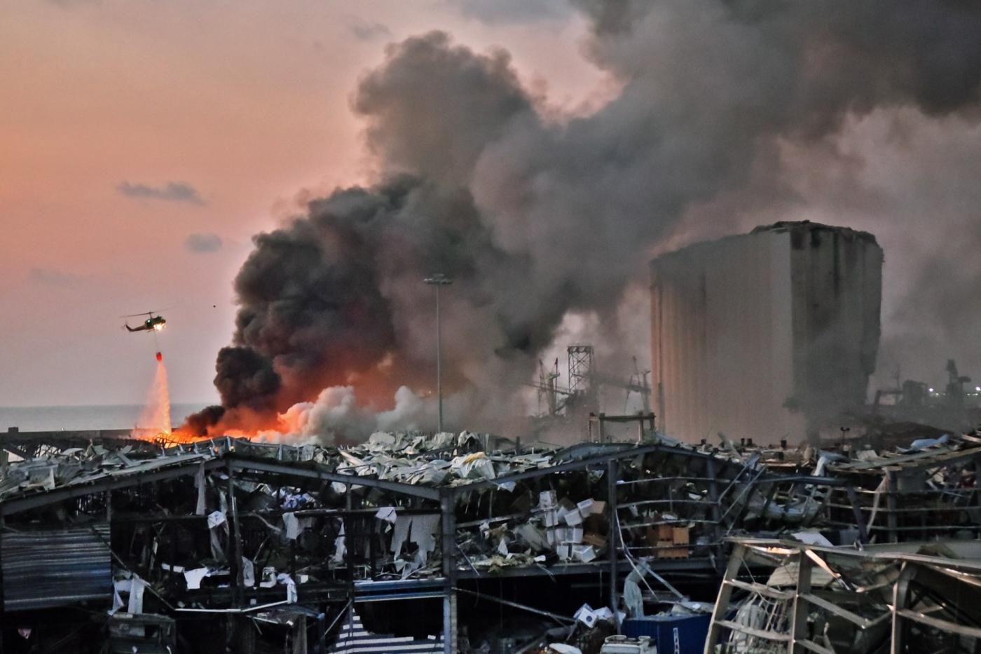 How Blast Happened In Beirut Lebanon Beirut Explosion Beirut Explosion