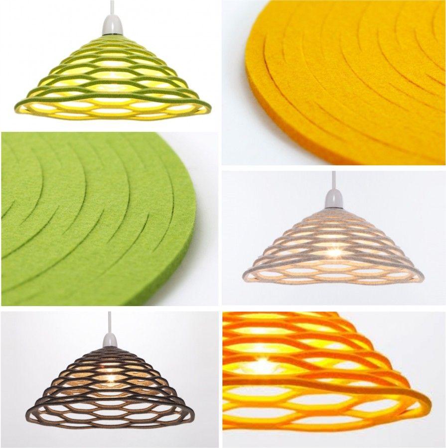 Lyustra Honey Felt Lampshade Paper Craft Videos Diy Lamp Shade