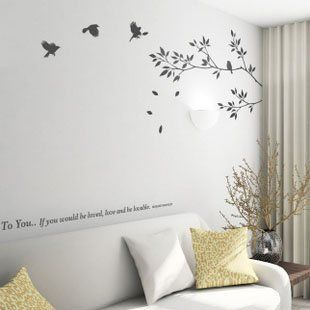Diamatter Muurdecoratie Home Decor Wall Art Home Decor Bird Wall Decals