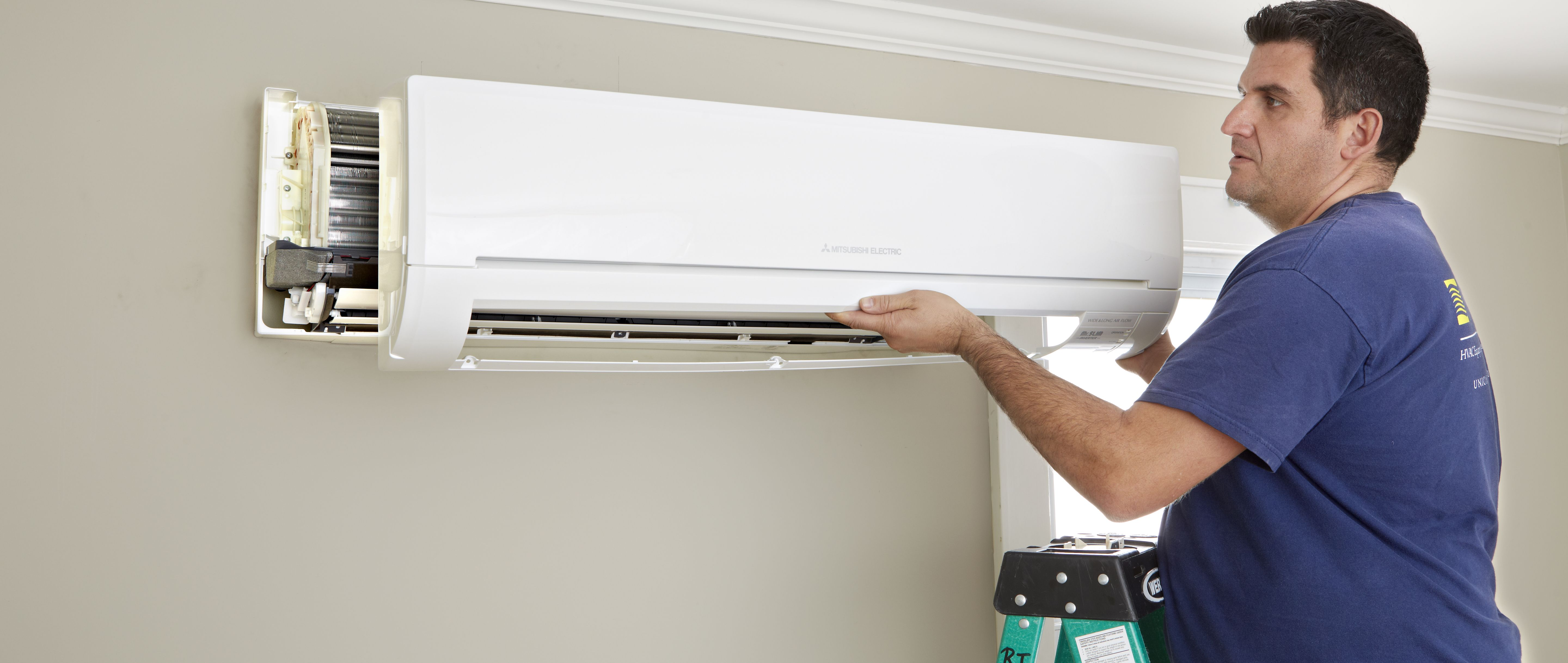 Basement window air conditioning units - How To Install A Mini Split Ac Heat Pump