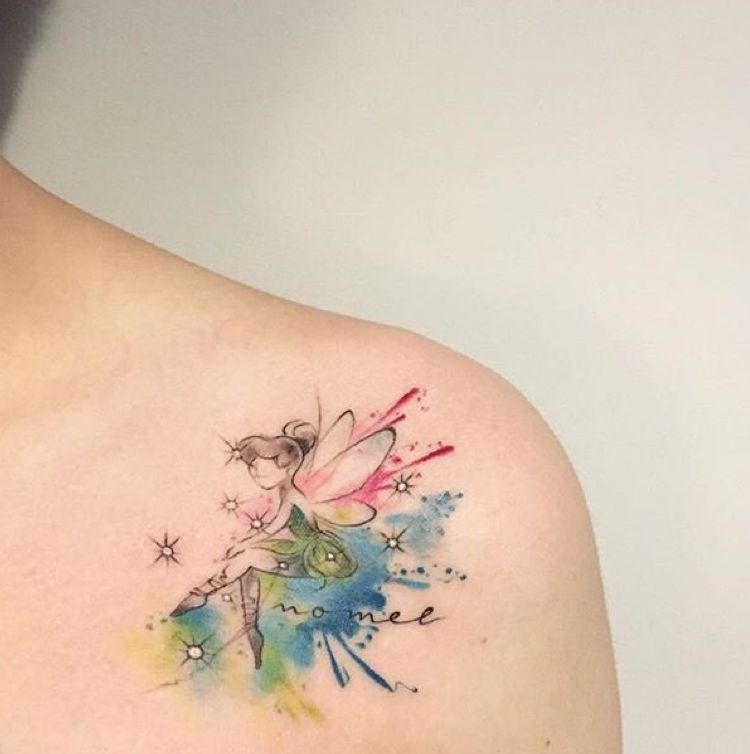 My Memory About You Tinkerbell Pixie Tattoo Fairy Tattoo
