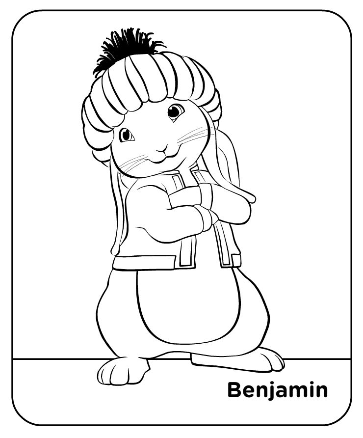 Peter Rabbit Coloring Pages Bfiar Fiar Ideas
