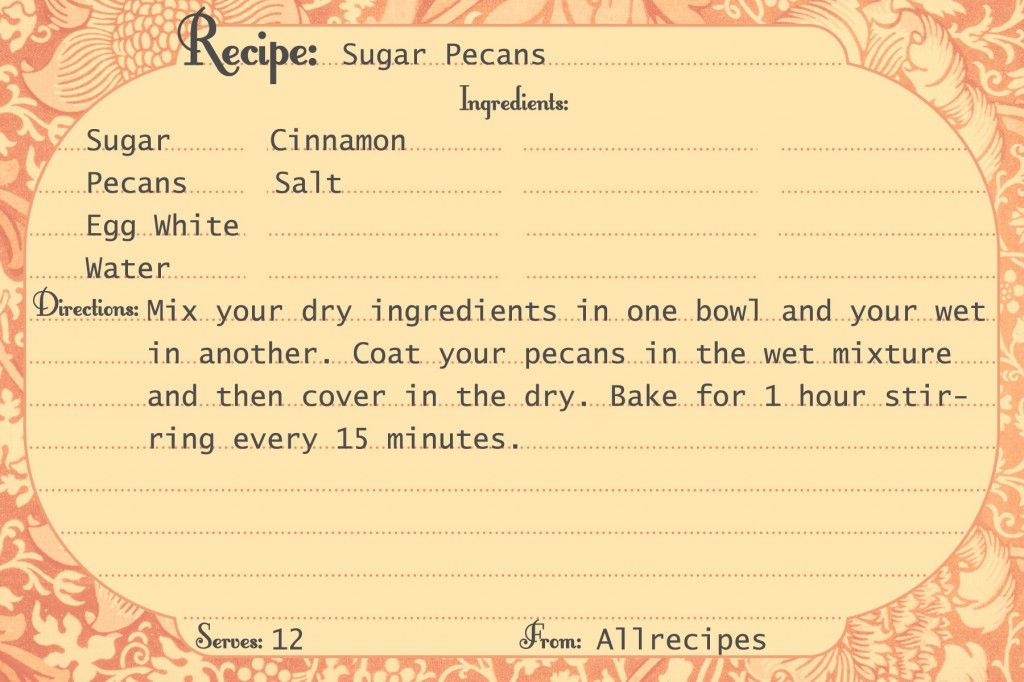 Free Printable Recipe Cards Call Me Victorian Printables