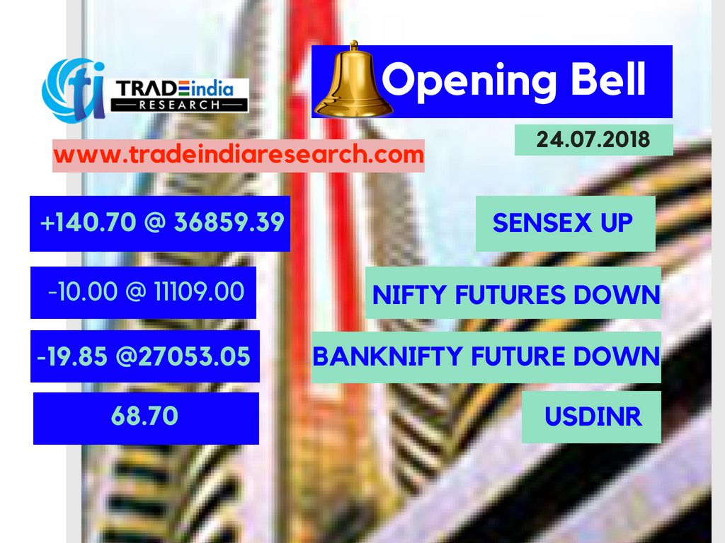 Market Live Sen Opens At A Record High Nifty Above 11 100 Acc Soars 10 For Top And Ideas Join Us Tradeindia Research Call Now 9009010900