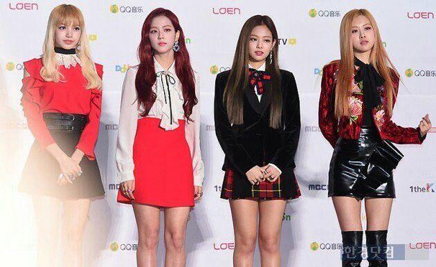 Pink  Yg Entertainment Music Awards Blackpink Fashion Woman Crush Red Carpet Photos Pop Pictures