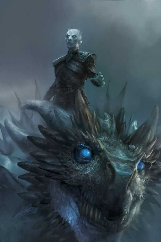 The Night King Viserion In 2019 Game Of Thrones Personajes De