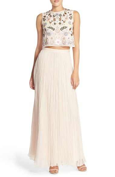 12abd616a9 Needle & Thread Top & Skirt available at #Nordstrom | maddie dresses ...