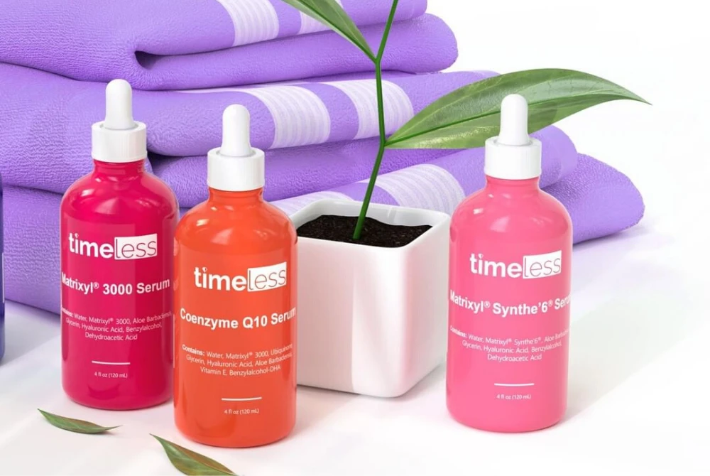 How To Layer Your Timeless Skin Care Favorite Products In 2020 Timeless Skin Care Skin Care Timeless Serum