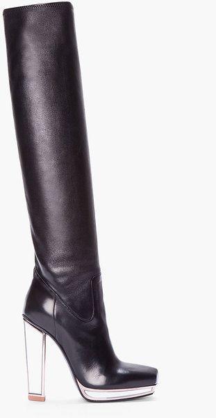 81670d99200 Yves Saint Laurent ~ Knee high Mirrored Tabita Boot