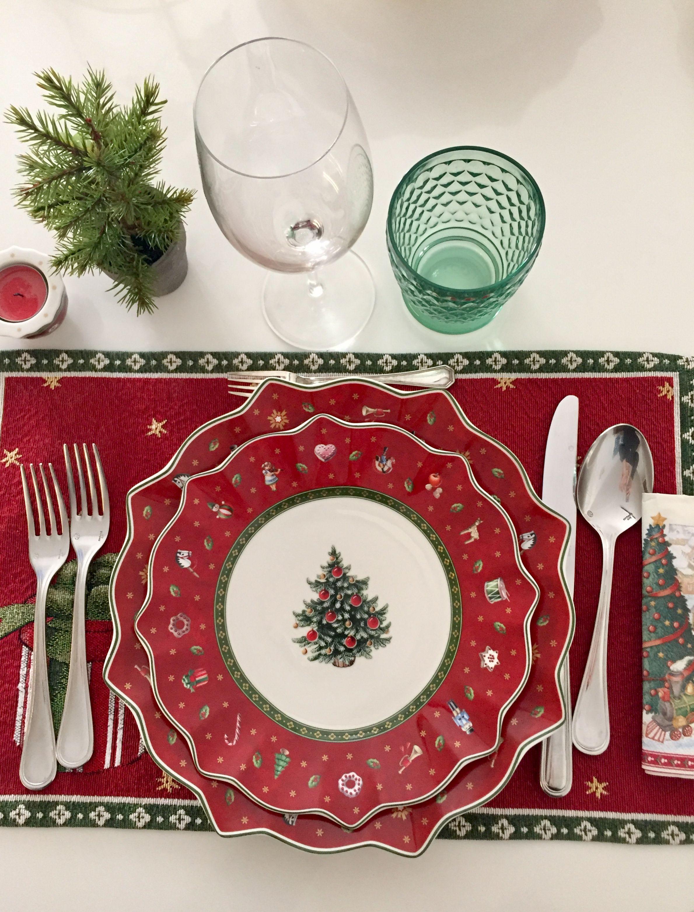 Villeroy E Boch Piatti.Villeroy E Boch Noel Natale Piatti Natalizi Setting The Table