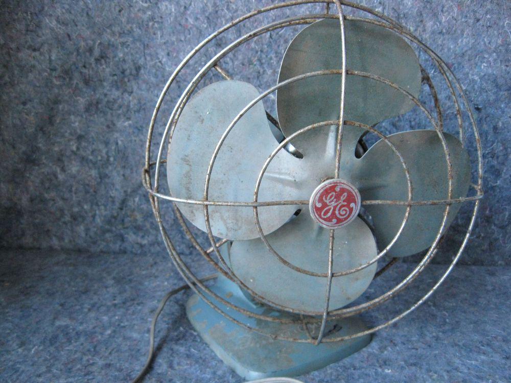 Vintage General Electric 10 Inch Oscillating Fan 1960s Ge Oscillating Fans Fan Old Fan