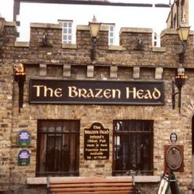 The Brazen Head Pub, Dublin, going there this time around, Est. 1198 that's right 1198, oldest pub in Ireland ;-)