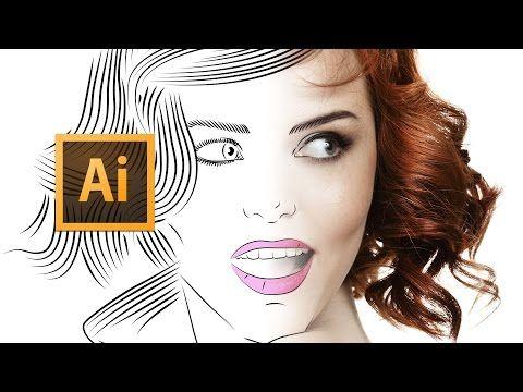 Line Art Effect Photoshop Tutorial : Adobe illustrator cc line art tutorial tips tricks & shortcuts