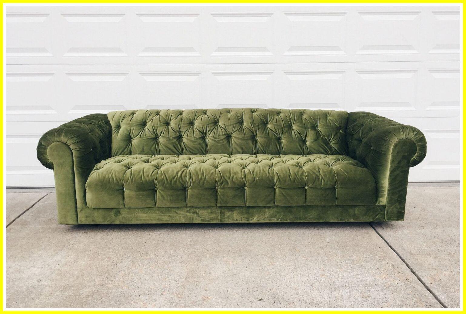 90 Reference Of Velvet Tufted Sofa Green In 2020 Green Sofa