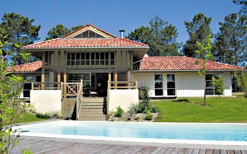 Magnifique maison avec piscine à Moliets Ça fait rêver Et peut - maison de vacances a louer avec piscine