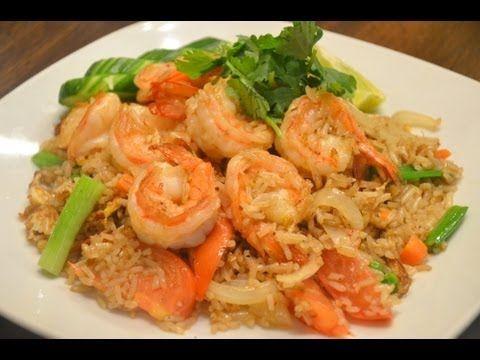 Thai fried rice recipe with shrimp khao pad goong thai fried rice recipe with shrimp khao pad goong youtube forumfinder Choice Image