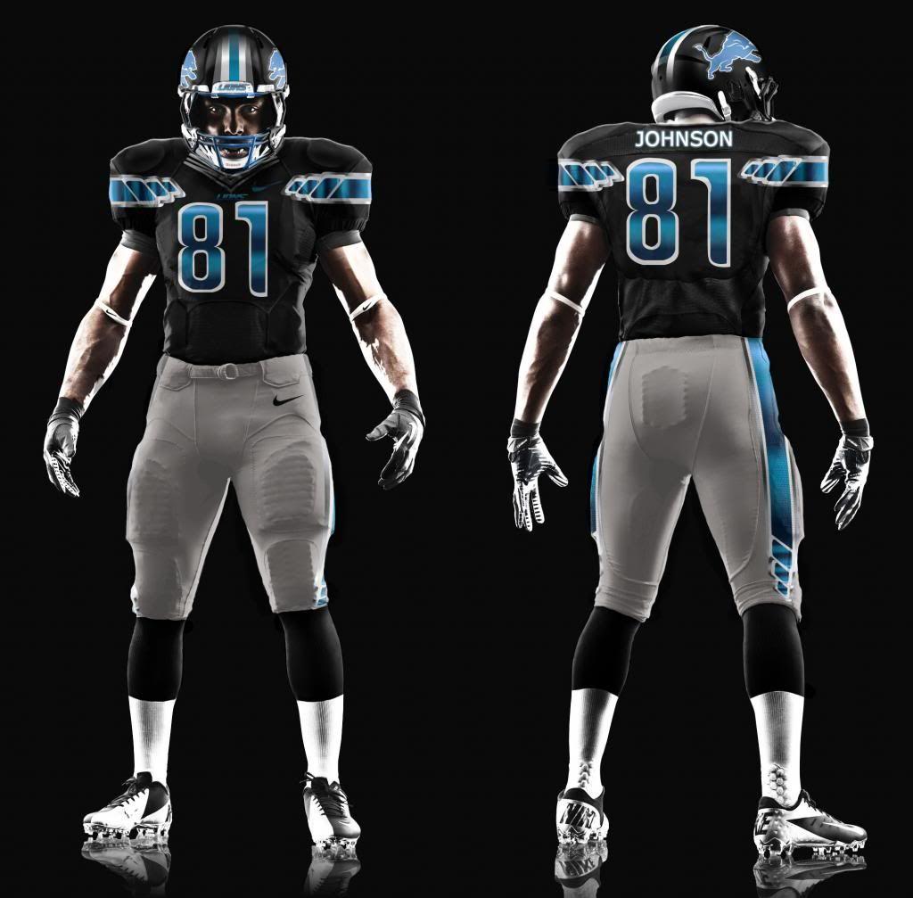 Detroit Lions New Logo | Detroit Lions Alernate Uniform Concept  supplier