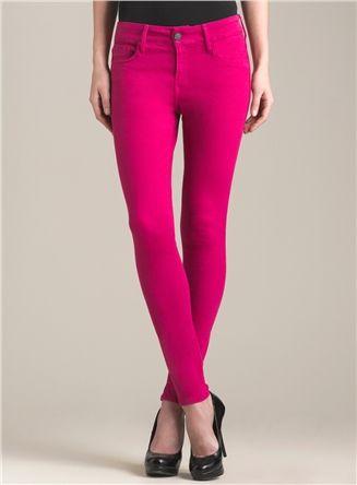 Hot Pink Skinny Jeans - Xtellar Jeans