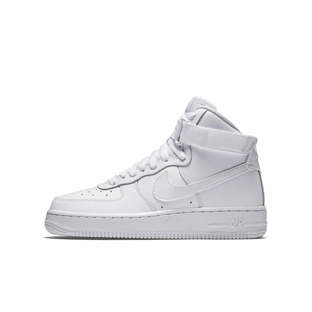 Nike Air Force 1. I see a lot of girls wearing these