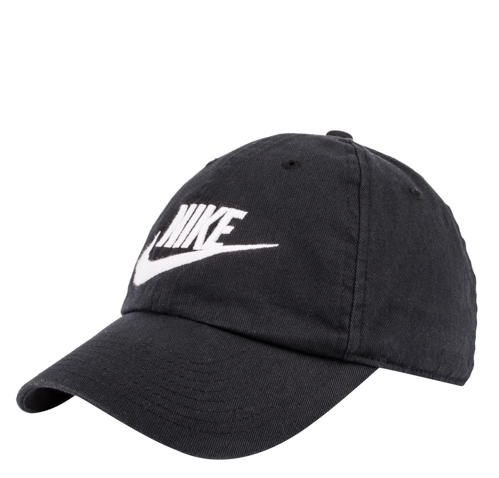 Black · Nike Futura H86 Hat-Black White