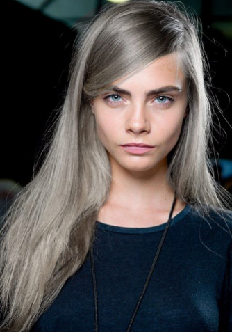 Fair Skin Ash Grey Blonde Use A Darker Ash Tone On Your Roots And Get Some Light Ash Blonde Highlights On Silver Blonde Hair Grey Hair Color Hair Color Trends