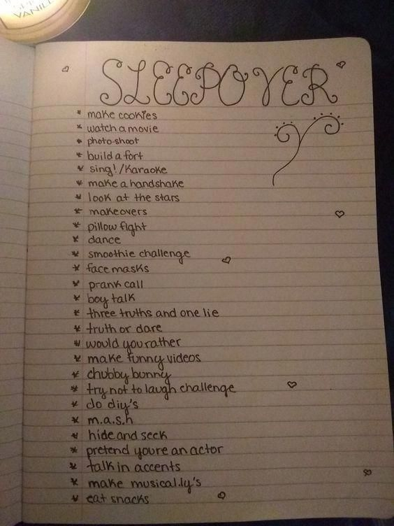 What To Do At Sleepover – Kids Activities For A Slumber Party #sleepoverparty