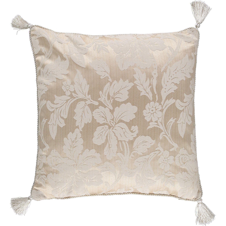 "Brocade Home Decor Decoration riva classics"" champagne & taupe brocade cushion  tk maxx"