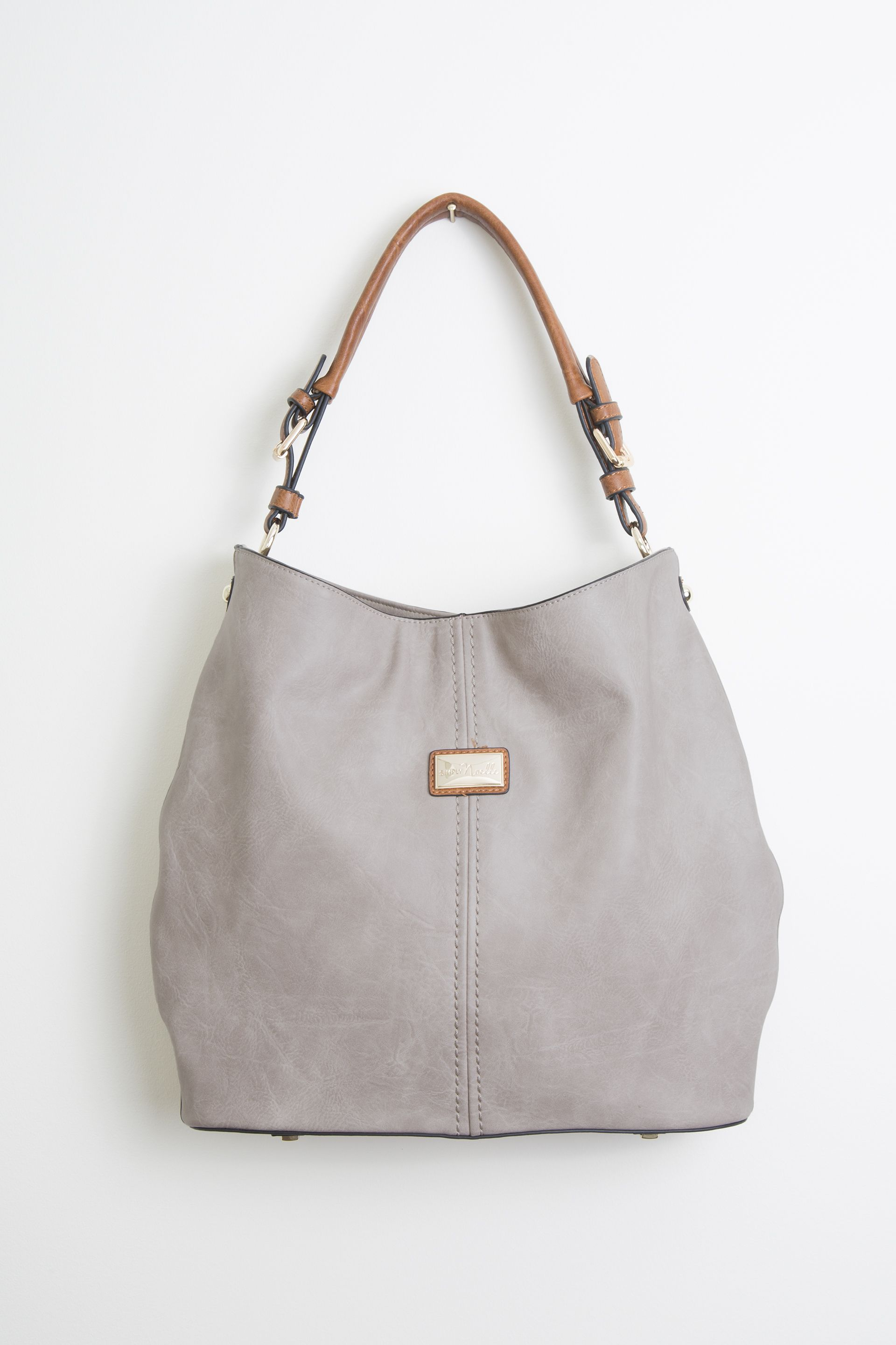 Your New Favorite Carry All For Fall The Simply Noelle Hobo Handbag In Stone