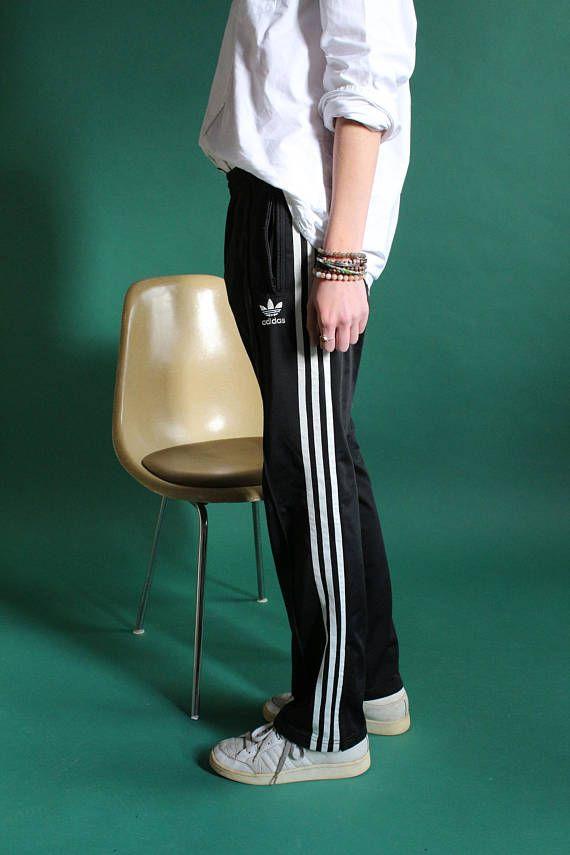 pantalon adidas noir avec rayures blanches