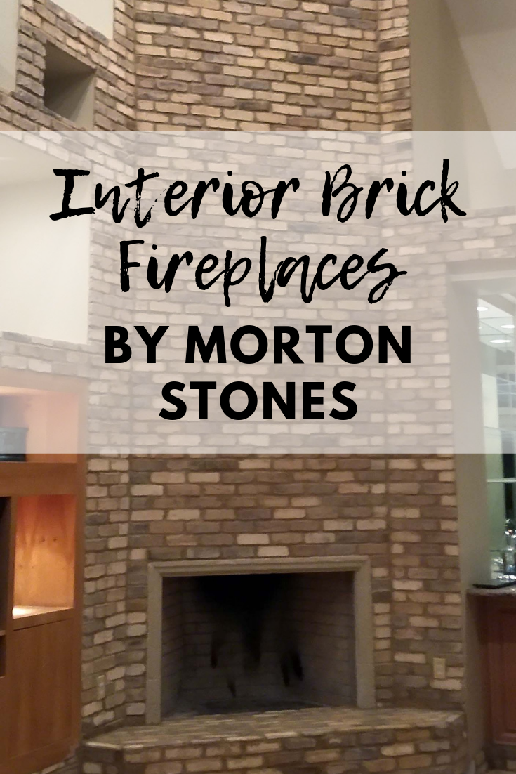 Interior Fireplace With Brick And Grouting Techniques By Stone