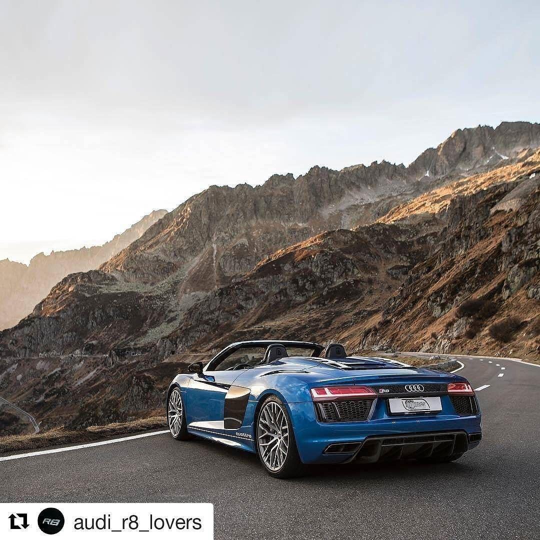 High End Luxury Cars Audi: #r8#r8spyder#audi#audir8#AudiSport#quattro#lamborghini