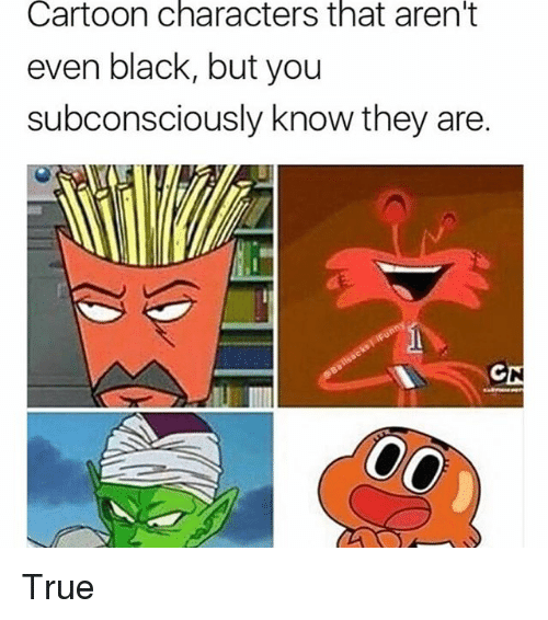 Black Cartoon Characters Meme (With images) Black