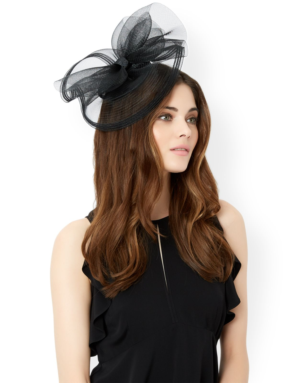 389ff78bd5de2 Perfect occasion looks with our Candence crin fascinator, designed with a  small, domed base and an oversized loop bow.