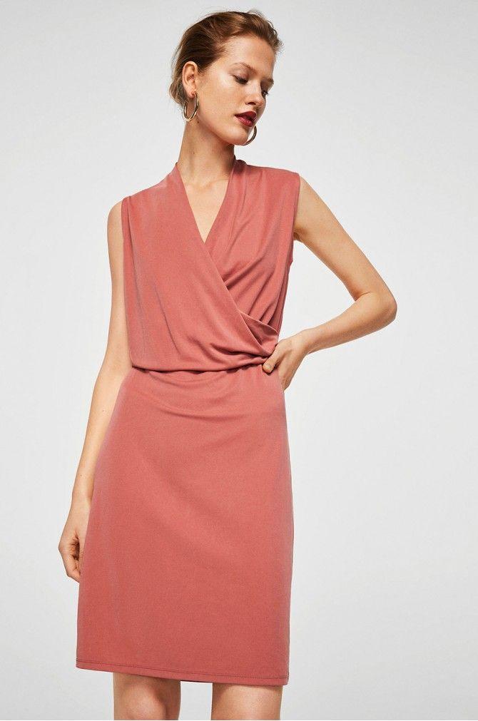 8e35ff3d3 Mango - Šaty Korea | Obleceni a doplnky | Dresses, Elastic waist a V ...
