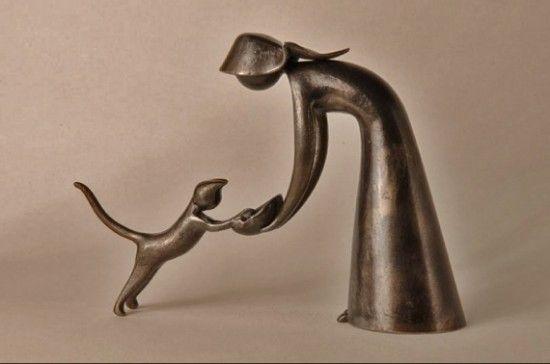 Jean Pierre Augier, sculpture - ego-alterego.com